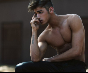 hot boys, man, and muscles image
