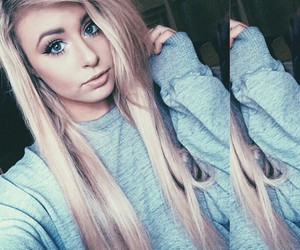 beautiful, danielle jackson, and blonde image