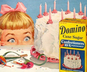 cake, vintage, and birthday image