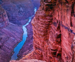 grand canyon, river, and view image