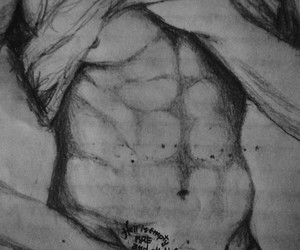 abs, fanart, and shirtless image