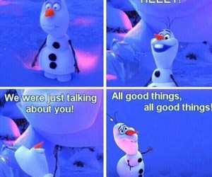 All good things, disney, and frozen image