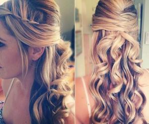 beauty, fashion, and peinados image
