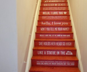 art, stairs, and decor image