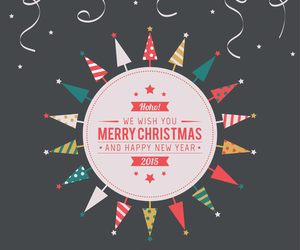2015, christmas, and new year image