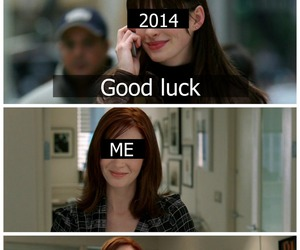 Anne Hathaway, emily, and new year image