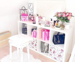 flowers, room, and Victoria's Secret image