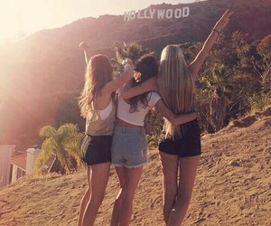 hollywood cute friends image