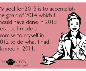 funny, goals, and new year image
