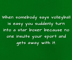 funny, volleyball, and life image