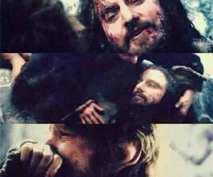 the hobbit, thorin, and bilbo image