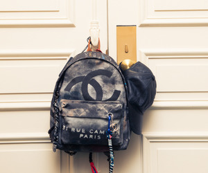 backpack, clothes, and fashion image