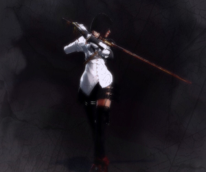 anime girl, vindictus, and blade image