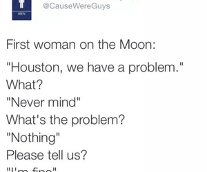 funny, problem, and moon image