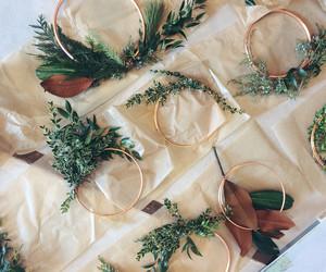 diy, greenery, and wreaths image