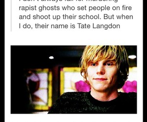 tate, ahs, and funny image