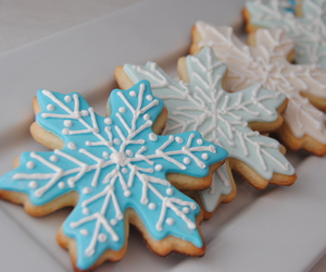 Cookies, christmas, and snowflake image
