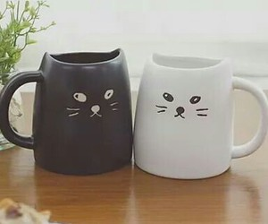cup, kawaii, and cute image