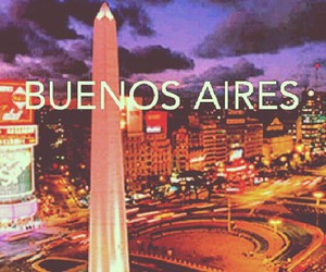 argentina, buenos aires, and lights image