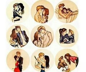 love, kiss, and hug image