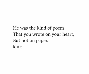 poem, heart, and quote image