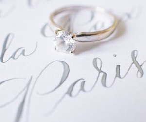 beautiful, ring, and paris image