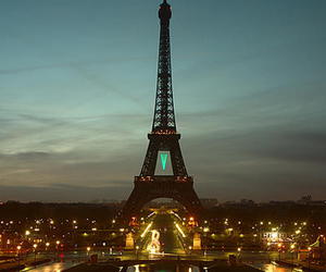 photography, lights, and paris image