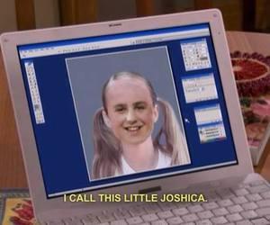 drake and josh, grunge, and joshica image