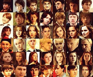 :), harry, and hermione image