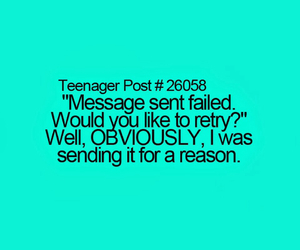 teenager post, message, and lol image