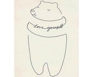 love, bear, and yourself image