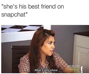 funny, kardashians, and snapchat image
