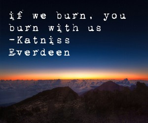 burn, fire, and quote image