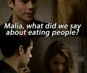 teen wolf, malia, and stiles image