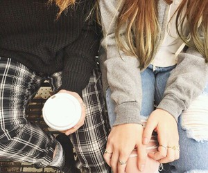 coffee, girls, and style image