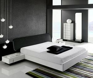 bedroom and black image