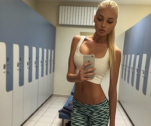 fit, body, and blonde image