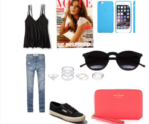 fashion, glam, and jeans image