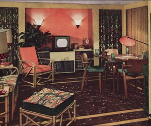 50s, design, and house image