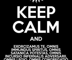 supernatural, keep calm, and exorcism image