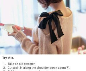 diy, fashion, and ribbon image
