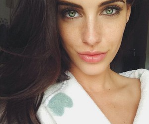 Jessica Lowndes, girl, and green eyes image