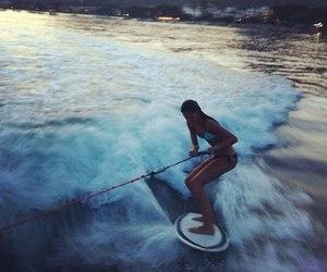 fun, ocean, and girl image