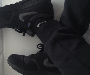 nike, black, and pale image