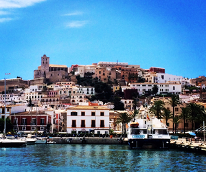 city, ibiza, and places image