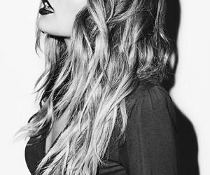beautiful, black and white, and grunge image