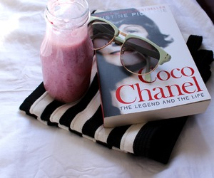 coco chanel, fashion, and book image