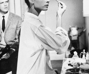 bw, tumblr, and audrey image