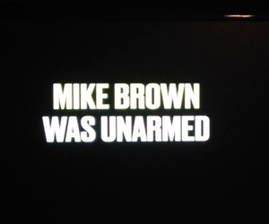 bw, unarmed, and mike brown image