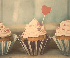 hearts, muffins, and nice image
